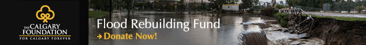 Donate to Calgary's Flood Rebuilding Fund